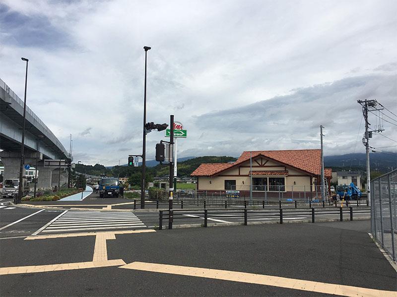 函南町文化センター入口交差点