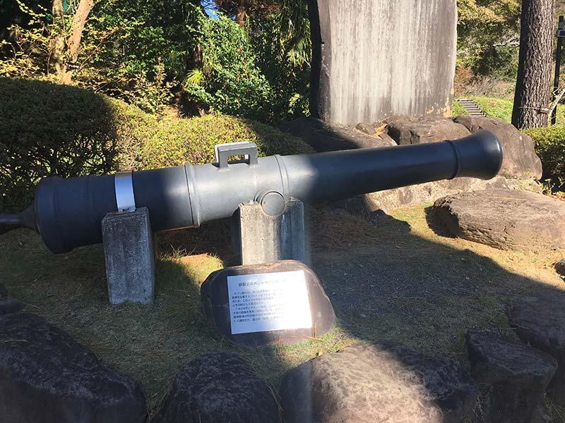 24ポンドカノン砲(レプリカ)
