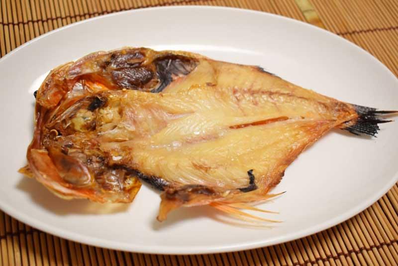 金目鯛(キンメ)の干物
